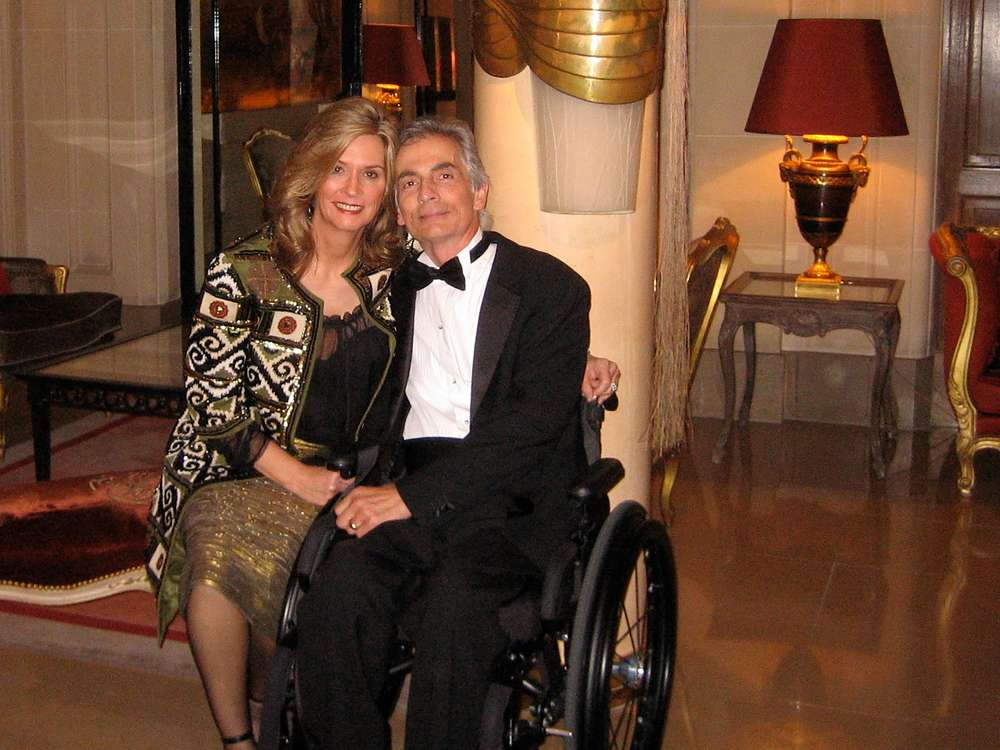 Paris and Loretta 35th anniversary in Paris