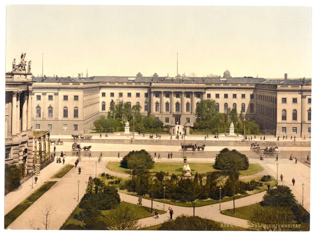 University of Berlin, Germany, circa 1900