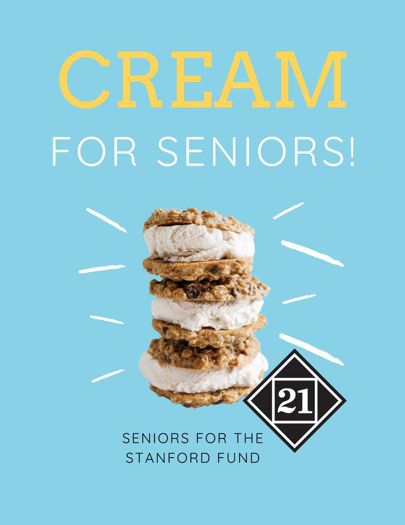 Cream for Seniors event
