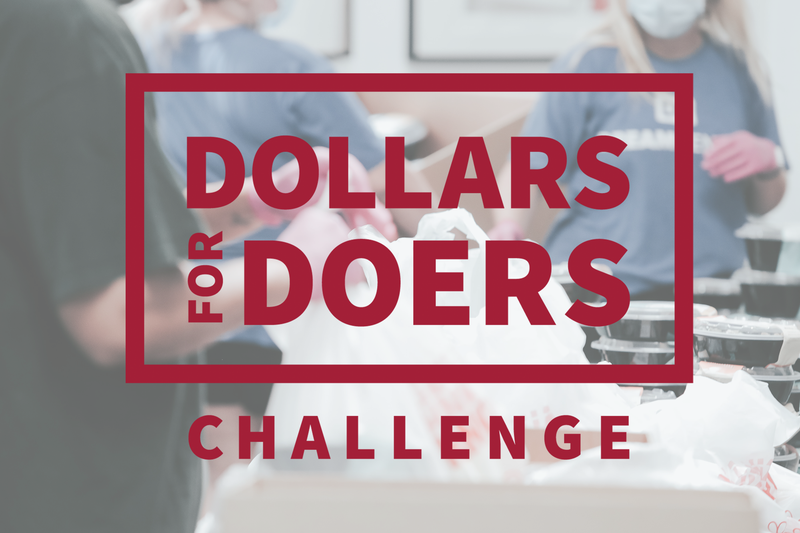 Dollars for Doers header