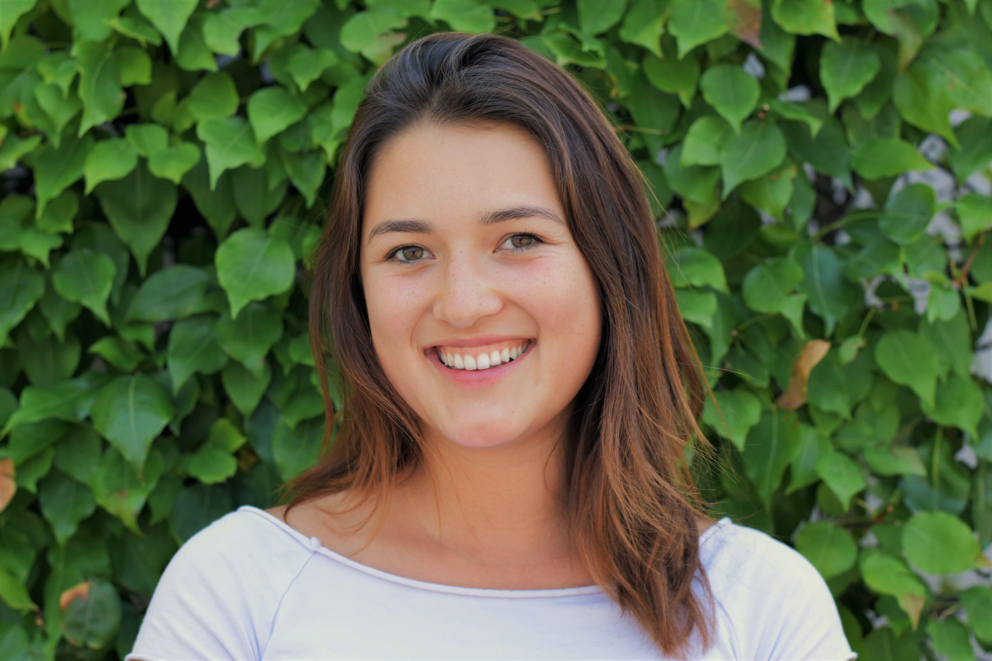 Stanford student Kiki Couchman